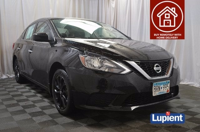 Used 2018 Nissan Sentra S with VIN 3N1AB7AP2JY262700 for sale in Brooklyn Park, Minnesota