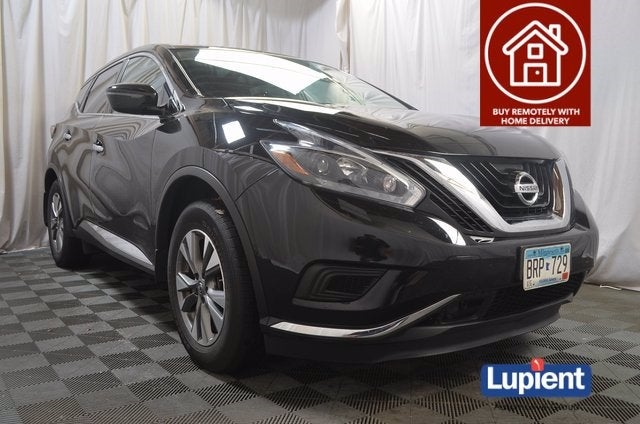 Used 2018 Nissan Murano S with VIN 5N1AZ2MH4JN178077 for sale in Brooklyn Park, Minnesota
