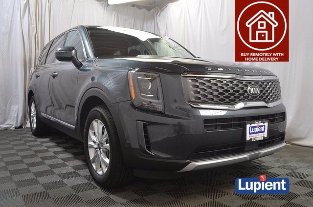 Used 2020 Kia Telluride LX with VIN 5XYP2DHC5LG027501 for sale in Brooklyn Park, Minnesota
