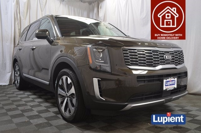 Used 2020 Kia Telluride S with VIN 5XYP6DHC6LG005821 for sale in Brooklyn Park, Minnesota
