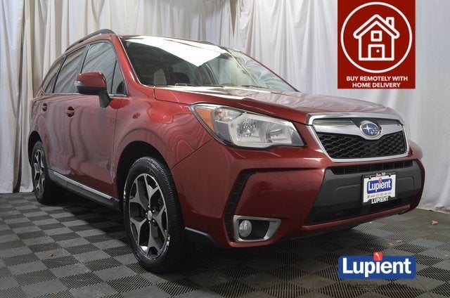 Used 2015 Subaru Forester XT Touring with VIN JF2SJGUC0FH808038 for sale in Brooklyn Park, Minnesota